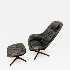 Plycraft Iconic Space Age Version Mr Chair and Ottoman by George Mulhauser for Plycraft - 1446503