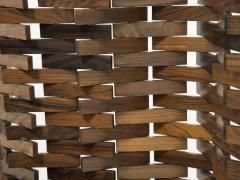 Poggi Paire of wood screen by Poggi circa 1960 - 1055970