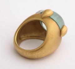Pomellato Vintage Pomellato Gold Aquamarine and Diamond Ring - 575826