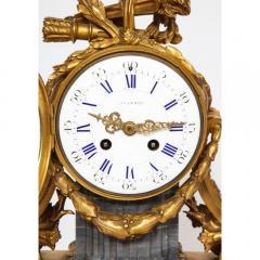 Popon A Paris A French Ormolu Mounted Bleu Turquin Marble Clock Japy Freres circa 1880 - 1110932