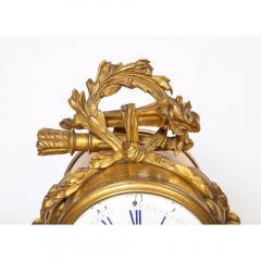 Popon A Paris A French Ormolu Mounted Bleu Turquin Marble Clock Japy Freres circa 1880 - 1110933