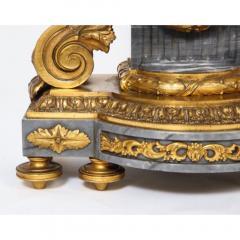 Popon A Paris A French Ormolu Mounted Bleu Turquin Marble Clock Japy Freres circa 1880 - 1110934