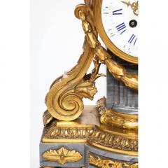 Popon A Paris A French Ormolu Mounted Bleu Turquin Marble Clock Japy Freres circa 1880 - 1110936