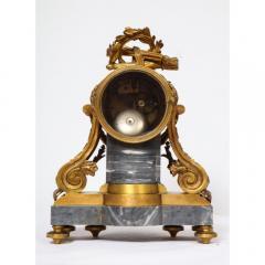 Popon A Paris A French Ormolu Mounted Bleu Turquin Marble Clock Japy Freres circa 1880 - 1110939