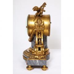 Popon A Paris A French Ormolu Mounted Bleu Turquin Marble Clock Japy Freres circa 1880 - 1110940
