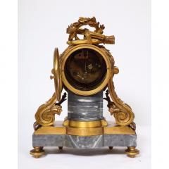 Popon A Paris A French Ormolu Mounted Bleu Turquin Marble Clock Japy Freres circa 1880 - 1110941