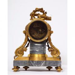 Popon A Paris A French Ormolu Mounted Bleu Turquin Marble Clock Japy Freres circa 1880 - 1110942