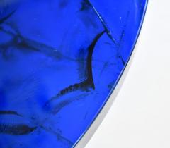 Portuondo Editions Blue fractal resin table - 1531717