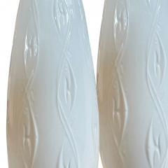 Porzellanfabrik AL KA Kunst Alboth Kaiser K G Mod pair of tall lamps by Alboth Kaiser - 1931633