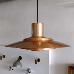 Preben Fabricius and Jorgen Kastholm Copper Pendant Light by Preben Fabricius J rgen Kastholm - 672750