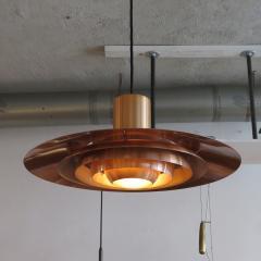 Preben Fabricius and Jorgen Kastholm Copper Pendant Light by Preben Fabricius J rgen Kastholm - 672754