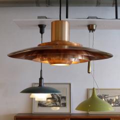 Preben Fabricius and Jorgen Kastholm Copper Pendant Light by Preben Fabricius J rgen Kastholm - 672758