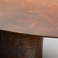 Privatiselectionem Hand sculpted liquid copper resin low coffee table - 1396566