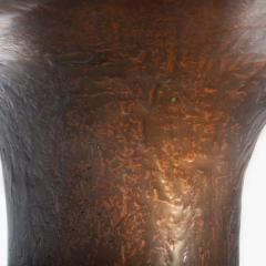 Privatiselectionem Hand sculpted liquid copper resin low coffee table - 1396567