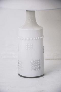 Pukeberg Swedish White Glass Lamps Pukeberg - 428541