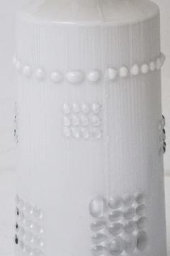 Pukeberg Swedish White Glass Lamps Pukeberg - 428542