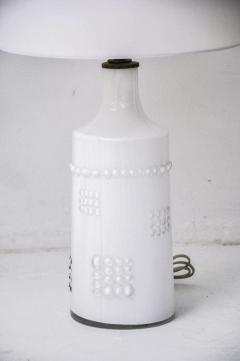 Pukeberg Swedish White Glass Lamps Pukeberg - 428543