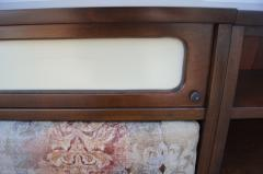 Pulaski Furniture Corporation Lacquered Walnut Oceanic Series King Headboard by Pulaski Furniture - 2124364