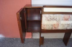 Pulaski Furniture Corporation Lacquered Walnut Oceanic Series King Headboard by Pulaski Furniture - 2124366
