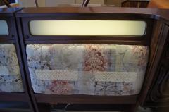 Pulaski Furniture Corporation Lacquered Walnut Oceanic Series King Headboard by Pulaski Furniture - 2124370