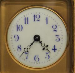 R Co Paris c 1895 French Sedan Carriage Clock with Miniature Portraits - 1146984