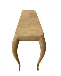 R Y Augousti French Modern Shagreen Console Table by R Y Augousti Paris - 1958718