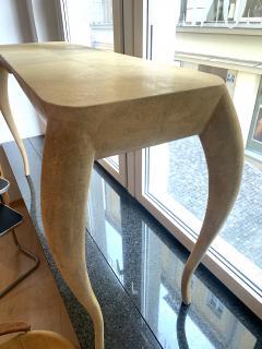 R Y Augousti French Modern Shagreen Console Table by R Y Augousti Paris - 1961778