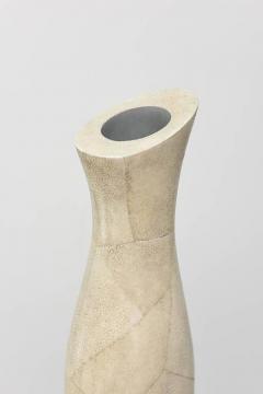 R Y Augousti Italian Modern Shagreen Vase R and Y Augousti - 358411