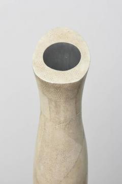 R Y Augousti Italian Modern Shagreen Vase R and Y Augousti - 358414