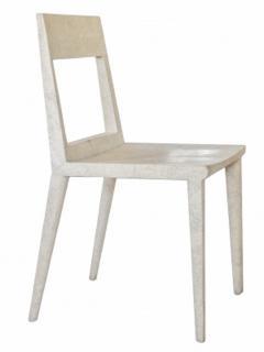 R Y Augousti R Y Augousti Shagreen Chair - 1258837