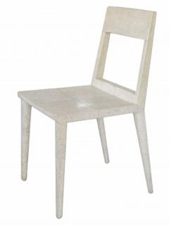 R Y Augousti R Y Augousti Shagreen Chair - 1258842