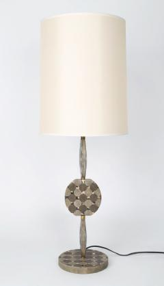 R Y Augousti Sculptural French Table Lamp in Shagreen and Horn by R Y Augousti c 1980s - 521328