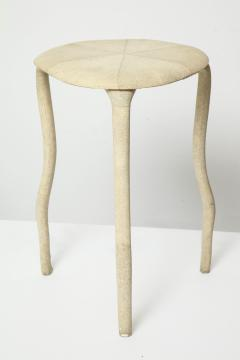 R Y Augousti Shagreen Three Legged Table By R Y Augousti - 391493