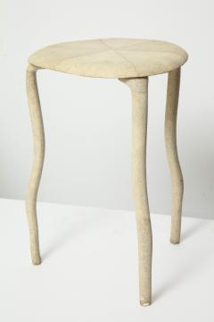 R Y Augousti Shagreen Three Legged Table By R Y Augousti - 391494