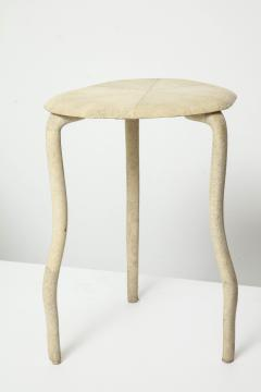 R Y Augousti Shagreen Three Legged Table By R Y Augousti - 391496