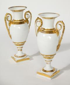 R rstrand A Pair of Swedish Porcelain Urns - 1760201