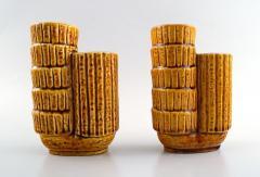 R rstrand A pair of Chamotte vases - 1410405