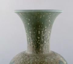 R rstrand Large vase in glazed ceramics Beautiful eggshell glaze in blue green shades - 1294462