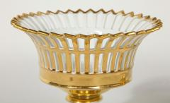 R rstrand Pair of Swedish Porcelain Corbeille Vases - 1785774