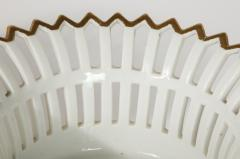 R rstrand Pair of Swedish Porcelain Corbeille Vases - 1785775