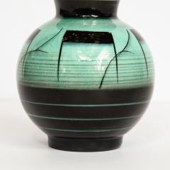 R rstrand Scandinavian Art Deco Glazed Ceramic Vase by Ilse Claesson for R rstrand - 1866350