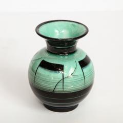 R rstrand Scandinavian Art Deco Glazed Ceramic Vase by Ilse Claesson for R rstrand - 1866353