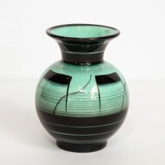 R rstrand Scandinavian Art Deco Glazed Ceramic Vase by Ilse Claesson for R rstrand - 1866354