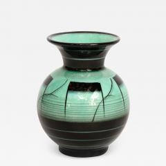 R rstrand Scandinavian Art Deco Glazed Ceramic Vase by Ilse Claesson for R rstrand - 1873498