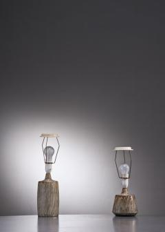 R rstrand Studio Gunnar Nylund a synchronic pair of ceramic table lamps Sweden - 2006293