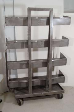 RACK Engineering RACK Engineering Industrial Bookcase with Wheels - 769044