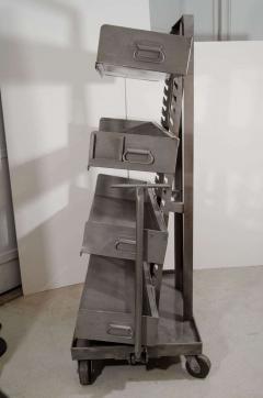 RACK Engineering RACK Engineering Industrial Bookcase with Wheels - 769046