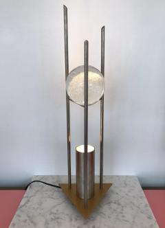 RW Manufaktur Pair of Lamps Glass Ball Sculpture by RW Manufaktur Germany 1980s - 622508