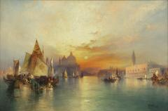 Rainone Galleries Inc Thomas Moran Venice 1897 - 887223