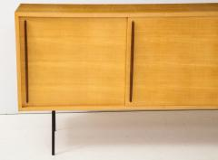 Raphael Furniture France Modernist Double Faced Sycamore Credenza by Raphael - 1116540